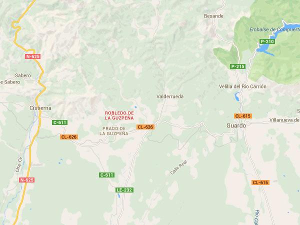 mapa de Corral Casiano