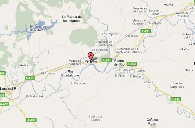 mapa de Casa El Castillo
