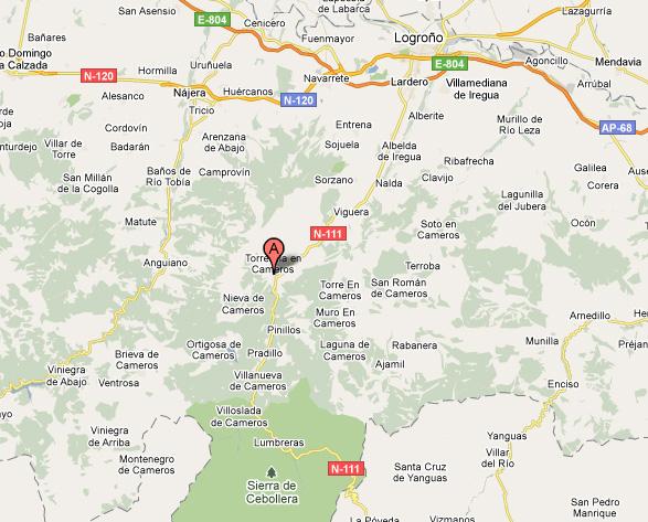mapa de Villa Liquidámbar
