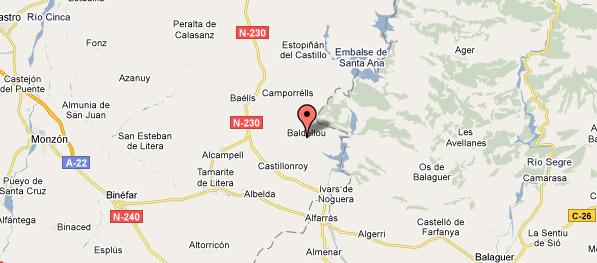 mapa de Ço Canes