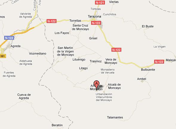 mapa de Casa Alicia