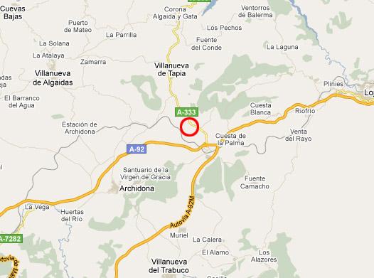 mapa de Hotel Rural Carlos Astorga
