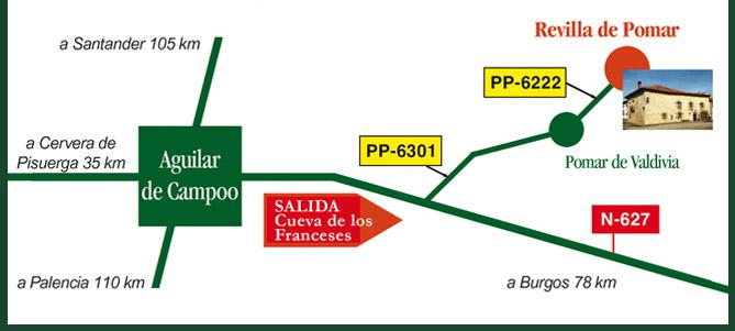mapa de Casa Florencio Hotel Rural