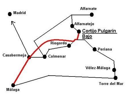 mapa de Cortijo Pulgarin Bajo