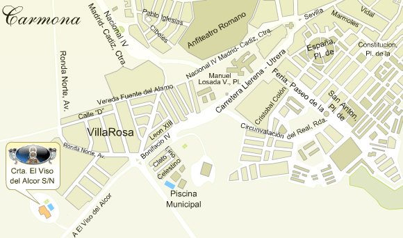 mapa de Casa Rural Ntra. Sra. De Gracia