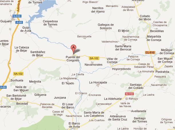 mapa de El Gorgocil