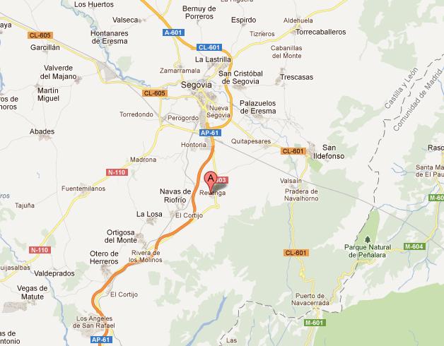 mapa de Casa Entre Acebedas