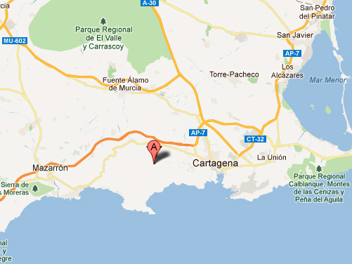 mapa de Casa Rural Batalla