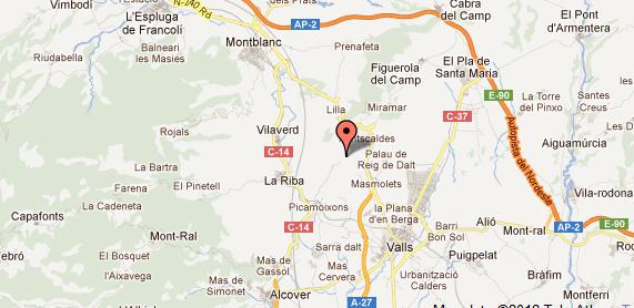 mapa de La Masovería Del Bosc