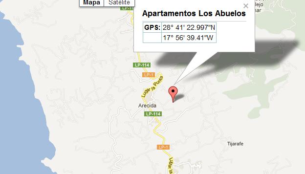 mapa de Los Abuelos