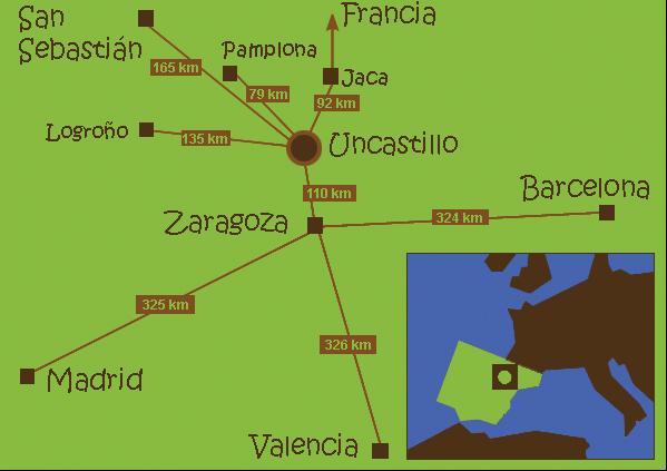 mapa de Caserón El Remedio I