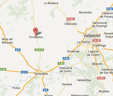 mapa de Torrelobatos