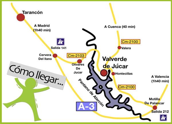 mapa de Gran Casona Rural De Los Fer