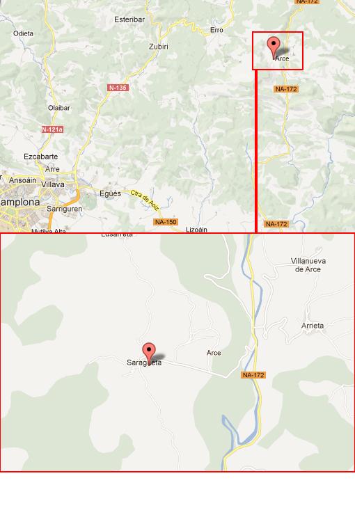 mapa de Casa Monaut