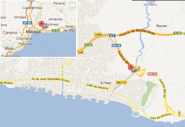 mapa de Cortijo Doña Carmen