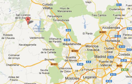 mapa de Villa Aymara