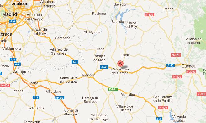 mapa de El Jardín De San Bartolomé