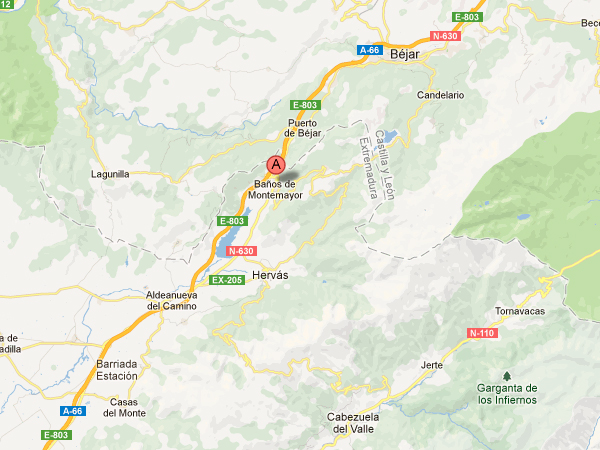mapa de Casa Rural Con Encanto Los Postigos