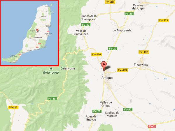 mapa de Hotel Rural Era De La Corte