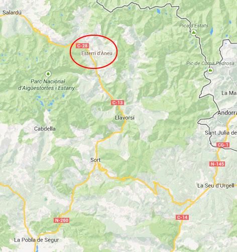 mapa de Casa Oficial