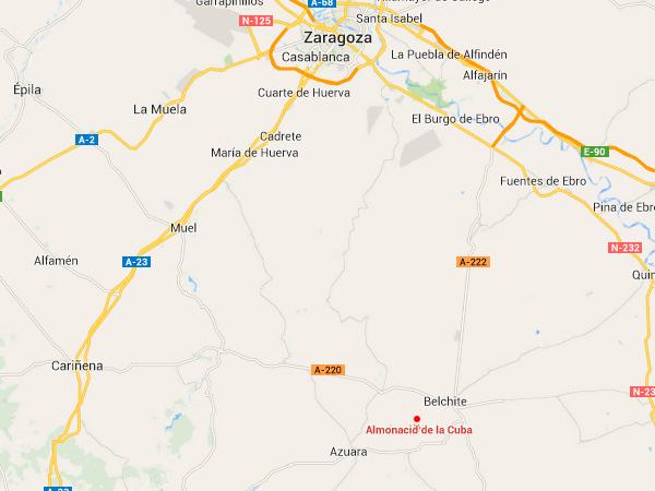 mapa de Apartamentos Rurales Molino Alto
