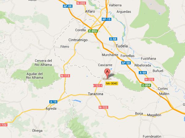 mapa de Casa Rural Palacete Magaña