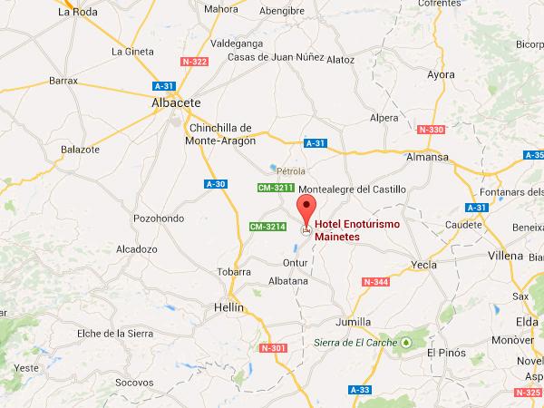 mapa de Casa Rural Rosendo
