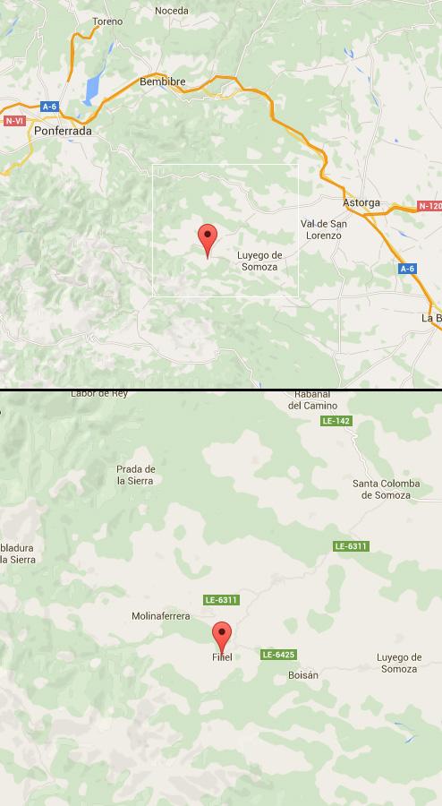 mapa de La Casa De Rosa