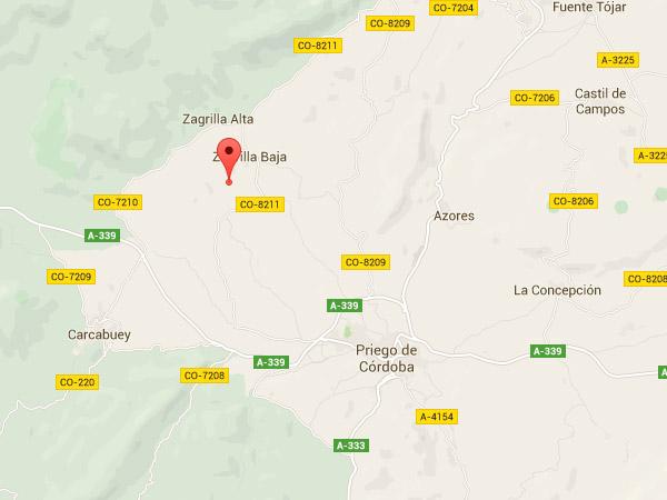 mapa de Casa De La Higuera