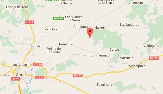 mapa de Miramontes