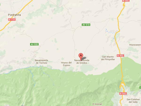 mapa de Almanzor