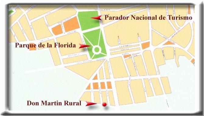 mapa de Don Martin Rural