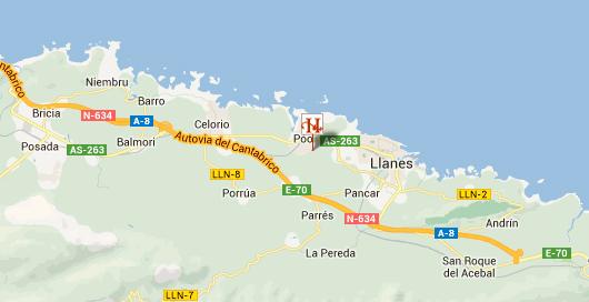 mapa de Hotel Rural Cuartamenteru