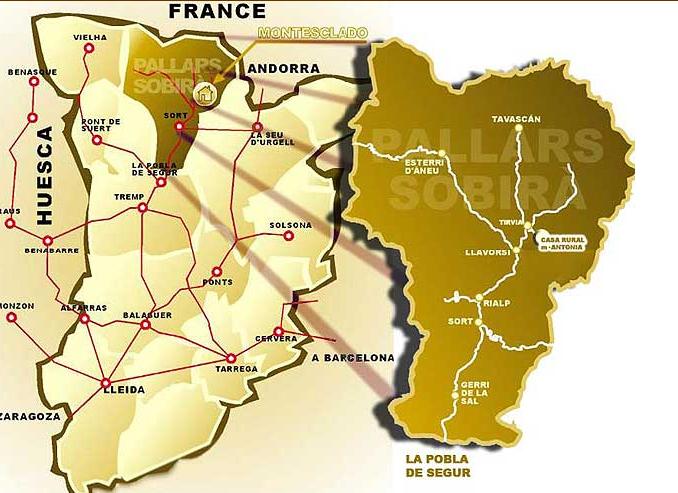 mapa de Casa Rural Maria Antonia