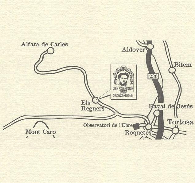 mapa de Hotel Rural Panxampla