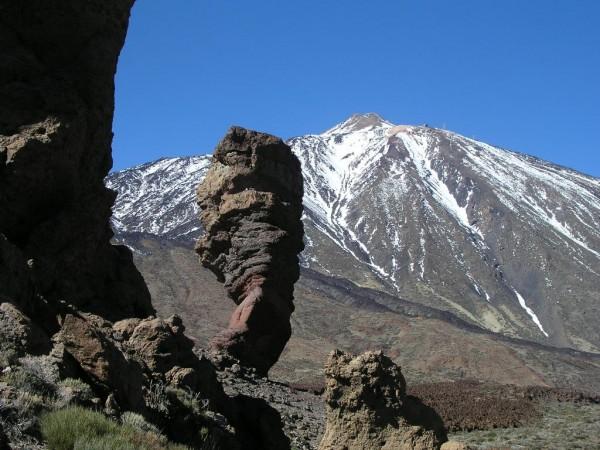Lugar de las Cañadas del Teide