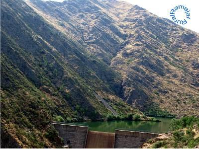 Paisaje lunar, ruta de la presa Majá-Robledo