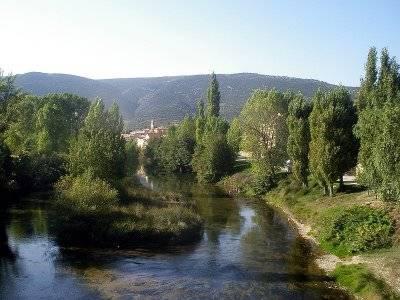 GR-99 Río Ebro a su paso por Burgos