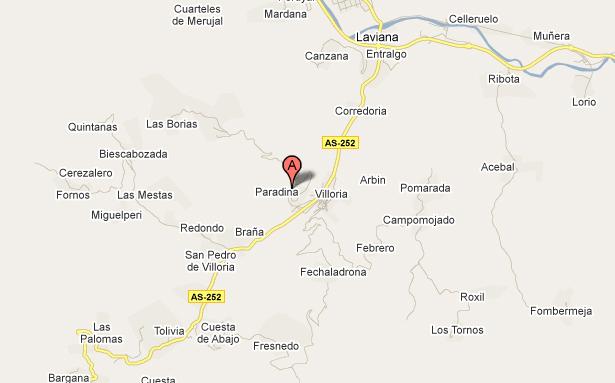 mapa de El Trasgu La Fronda
