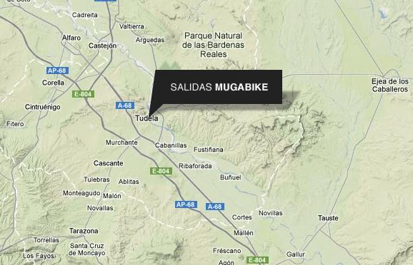 mapa de Mugabike