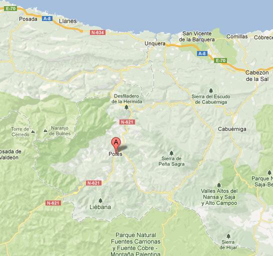 mapa de Picostour