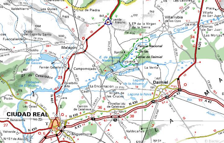 mapa de Tandem
