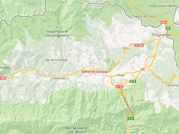 mapa de Guies De Muntanya
