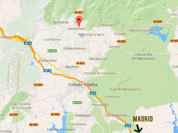 mapa de Amadablam Aventura