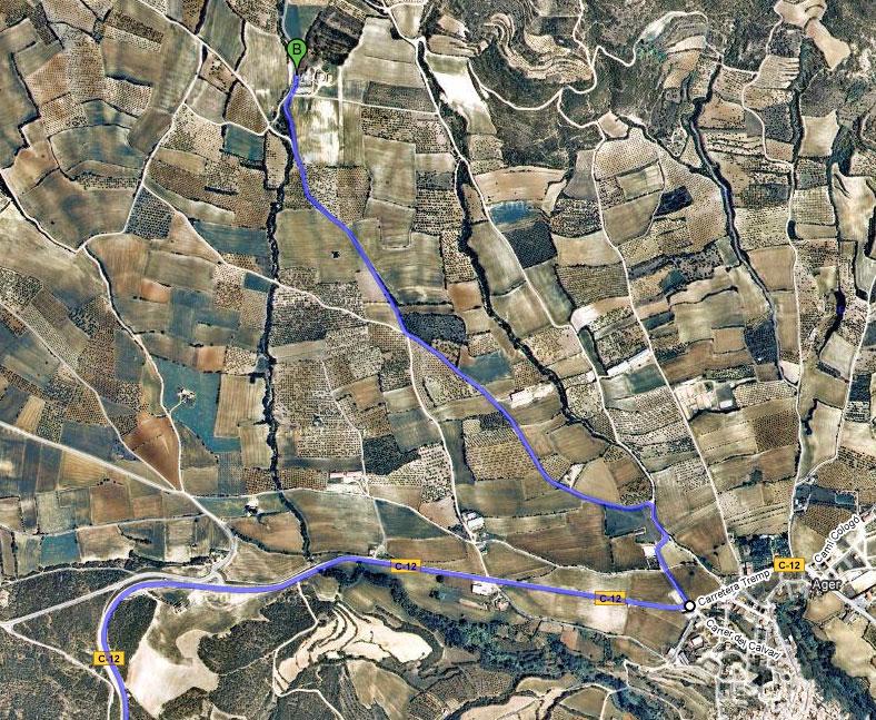 mapa de Entrenúvols