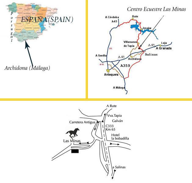 mapa de Cortijo Las Minas