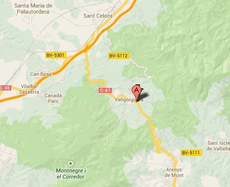 mapa de Els Fogons Del Xeremell