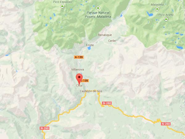 mapa de Casa Chongastán
