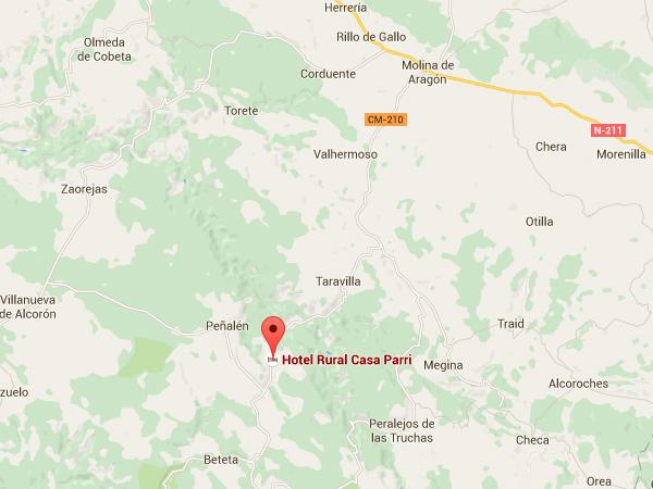 mapa de Mesón Asador Casa Parri