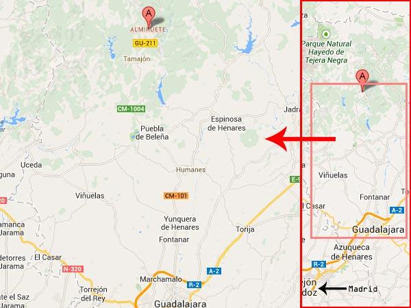 mapa de El Huerto Del Abuelo